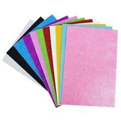 5 feuilles de papier mousse scintillant 20x30cm, bricolage, bricolage, bricolage, bricolage, fête