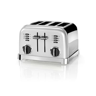 Toaster 4 tranches Gris perle CP...
