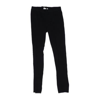 Gap Kids Leggings: Black Solid B...