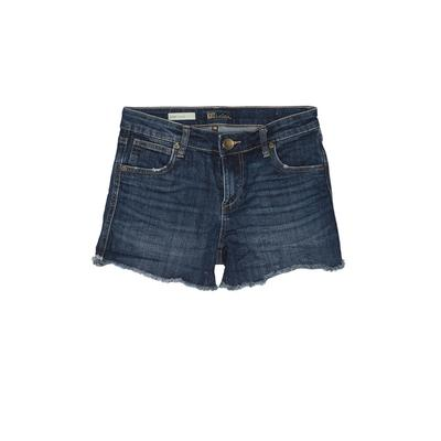 Kut from the Kloth Denim Shorts: Blue Solid Bottoms - Size 00