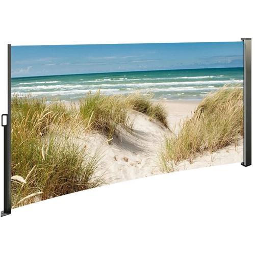Seitenmarkise mit Fotodruck, 180 cm hoch links Ostsee