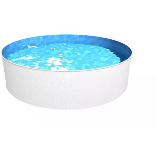 Steinbach Swimming Pool 'New Splasher Secure' weiß Ø 350 x 90 cm