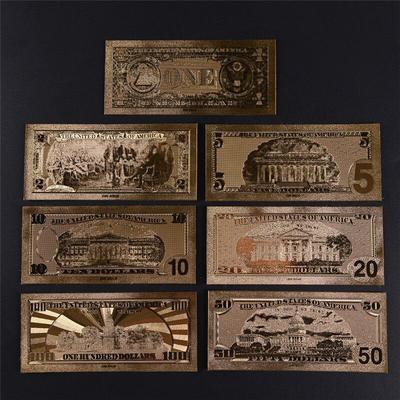 Billets de BUS en or plaqué Anti...