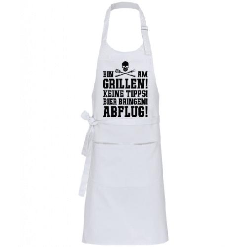Bin Am Grillen - Profi Kochschürze