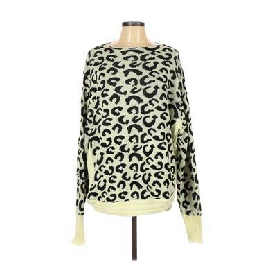 Vestidos Sweatshirt: Green Print Clothing - Size Large