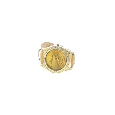 Via Nova Watch: Gold Solid Accessories
