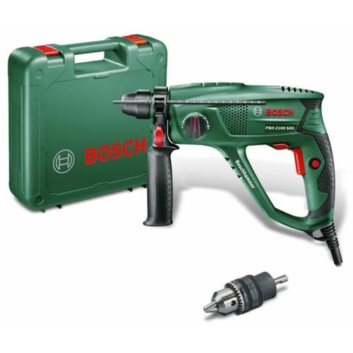 Bosch - Bohrhammer PBH 2100 SRE inkl. Bohrfutter