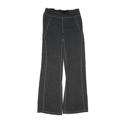 Gracie by Soybu Leggings: Gray Solid Bottoms - Size 10
