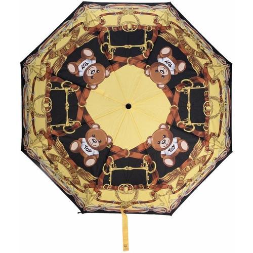 Moschino Regenschirm mit Teddy-Print