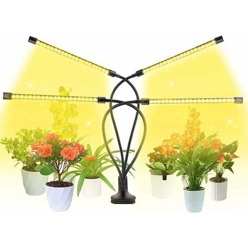 LED-Pflanzenwachstumslicht, Vollspektrum-Pflanzenlicht, Timing + Adapter
