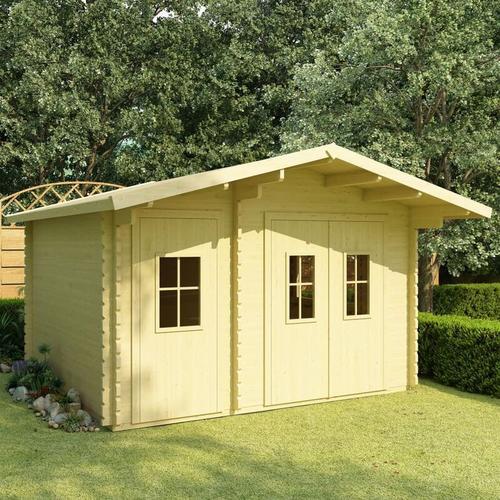 Vidaxl - Blockhaus 44 mm 410×320×264 cm Massivholz Kiefer