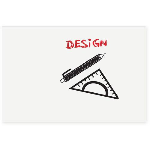 BOARD-UP frameloos whiteboard - 50x75 cm