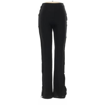 Casual Pants - Elastic: Black Bo...