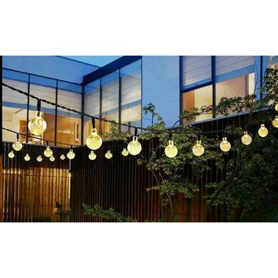 Guirlandes solaires de 30 LEDs : x2
