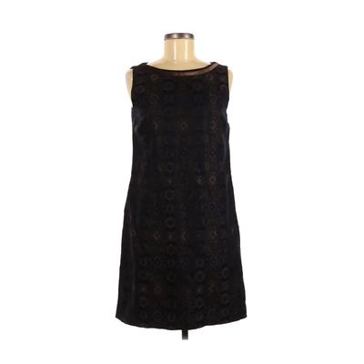 Saks Fifth Avenue Casual Dress - Mini: Blue Solid Dresses - Used - Size 8