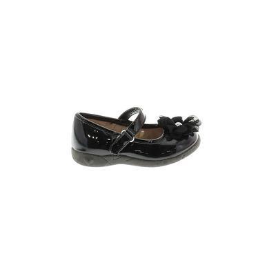 The Children's Place - The Children's Place Dress Shoes: Black Solid Shoes - Size 6