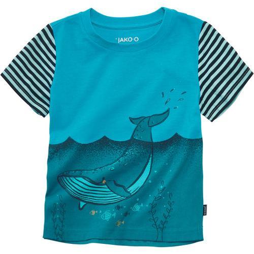 T-Shirt Unterwasserwelt, türkis, Gr. 80/86