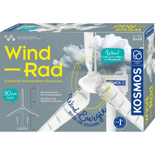 Kosmos Modellbausatz Wind-Rad weiß Kinder Modellbausätze Bauen Konstruieren