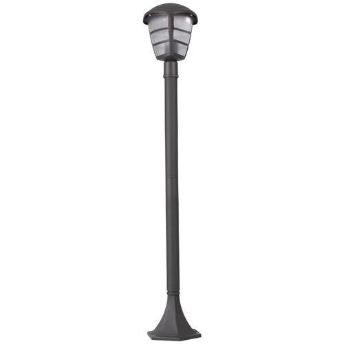 Außen Steh Leuchte ALU Laterne Lampe steuerbar per App Handy Sprache im Set inkl. RGB LED