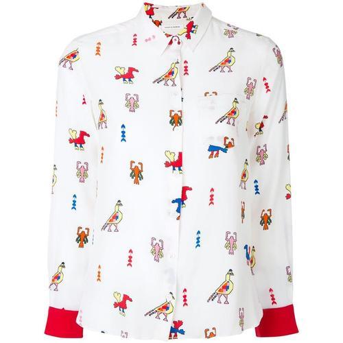 Chinti & Parker Hemd mit Azteken-Print