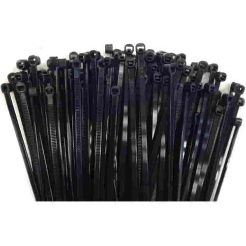 100 Kabelbinder 300x3,6mm schwarz (UV-stabilisiert) PA6.6