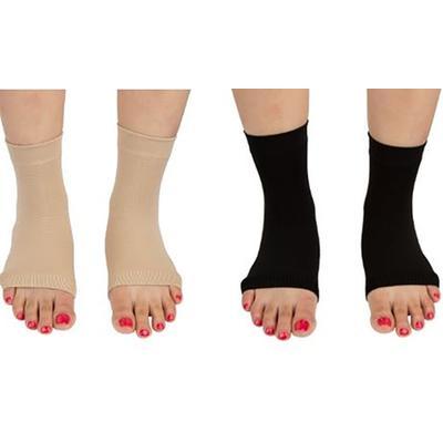 Paire de chaussettes unisexes Pro 11 Wellbeing pour la fasciite plantaire : Taille M / Chair / x 2