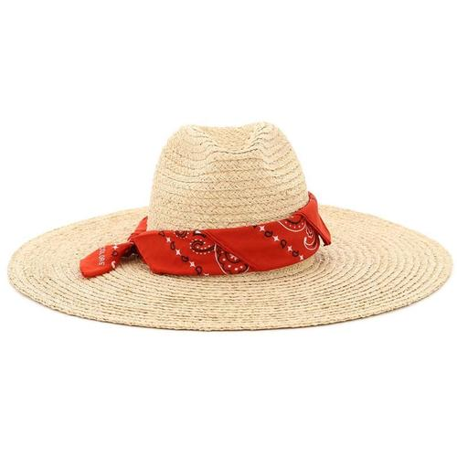 Alanui Straw bandana hat