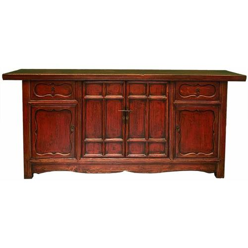 Asienlifestyle - Asia Möbel - chinesisches Sideboard - 195cm lang