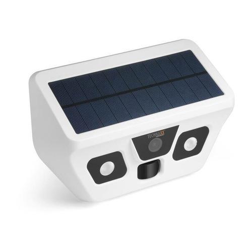 Technaxx FullHD-Solar-Außenkamera mit LED-Licht