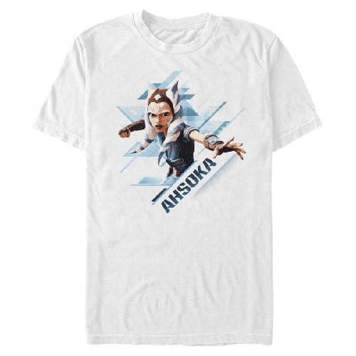 Ahsoka Angled - Star Wars Klonenkriege - Männer T-Shirt
