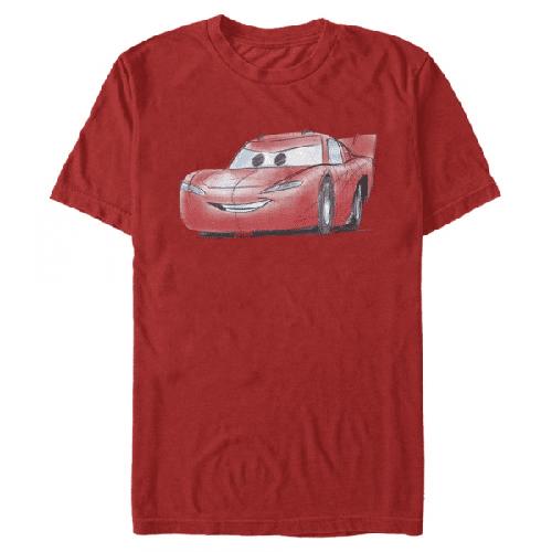 McQueen Sketch Lightning McQueen - Pixar Cars 1-2 - Männer T-Shirt