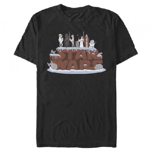 Geburtstag Cake Gruppe - Star Wars - Männer T-Shirt