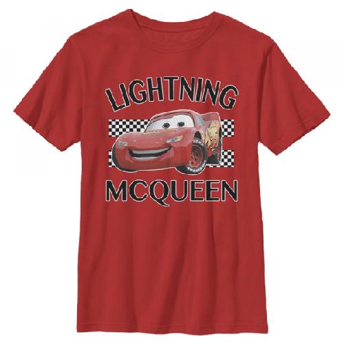 Lightning McQueen - Pixar Cars 1-2 - Kinder T-Shirt
