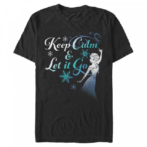 Let it Go Now Elsa - Disney Frozen - Männer T-Shirt
