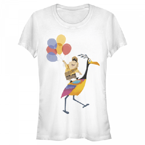 Kevin's Feathers Russell & Kevin - Pixar Up - Frauen T-Shirt