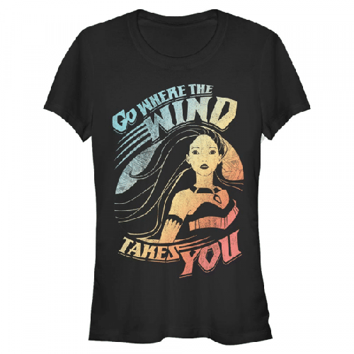Wind takes you - Disney Pocahontas - Frauen T-Shirt