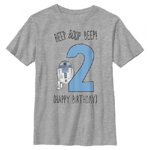 Boop Geburtstag R2-D2 - Star Wars - Kinder T-Shirt