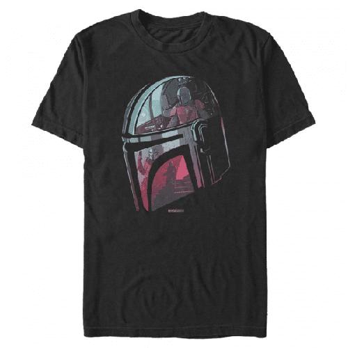 Helmet Explanation - Star Wars Mandalorian - Männer T-Shirt
