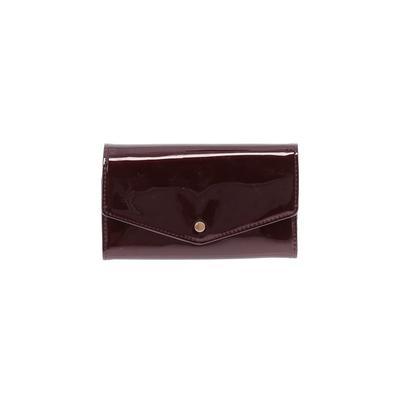 Unbranded - Wallet: Burgundy Solid Bags