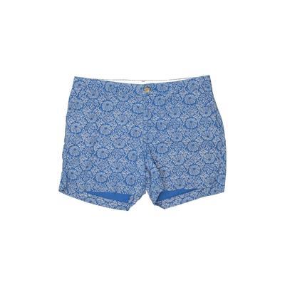 Old Navy Khaki Shorts: Blue Prin...