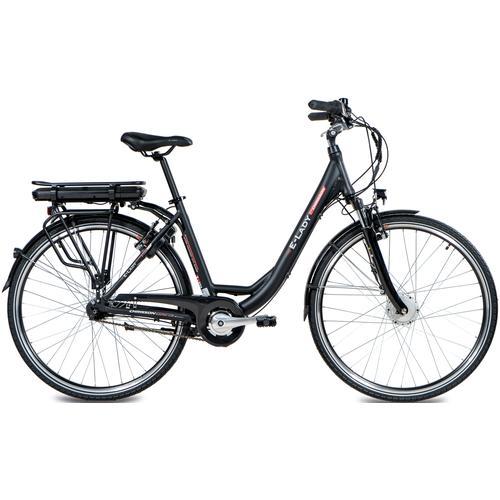 Chrisson E-Bike E-LADY, 8 Gang, Shimano, SG-C3000-7C, Frontmotor 250 W schwarz E-Bikes Fahrräder Zubehör