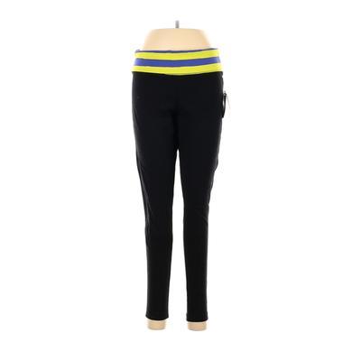 Tek Gear Yoga Pants - High Rise: Black Activewear - Size Medium