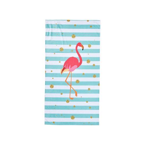 Done »Case« Strandtuch Flamingo 90x180 cm