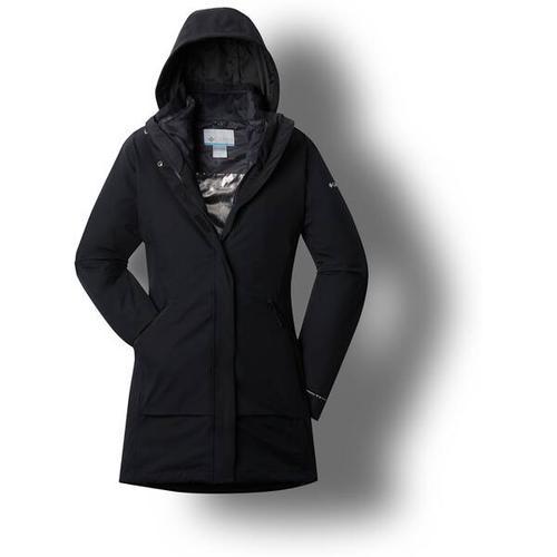 COLUMBIA Damen Pulaski 3-in-1-Jacke, Größe S in Black