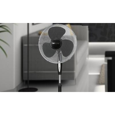 Ventilateur oscillant sur pied Clatronic 45W avec télécommande
