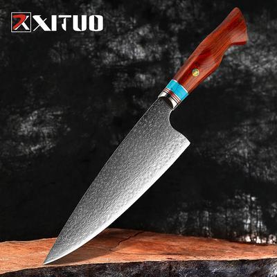 XITUO couteaux de boucherie dama...