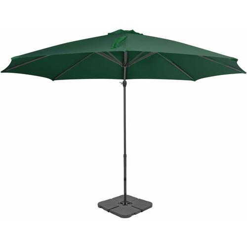 YOUTHUP Sonnenschirm mit Schirmst?nder Grün
