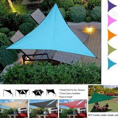 Pare-soleil d'extérieur triangulaire de 3M, auvent étanche pour jardin, Patio, piscine, voile