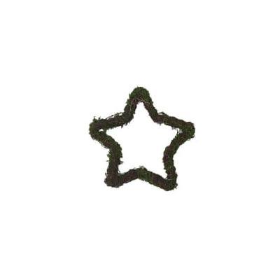 Deco Home & Garden - Moss Star - Estrella Musgo - L