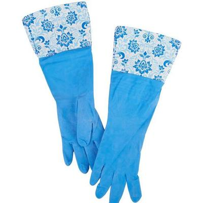 Home Expressions Damask Rubber Gloves